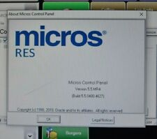 Micros 3700 Res V55 Preowned Server Calendar Patched Ready For Your Menu