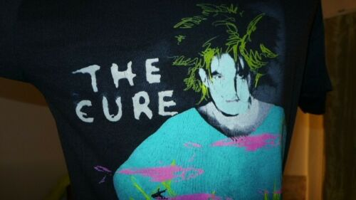 Vintage 1986 The Cure Standing on a Beach Staring