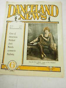 Danceland News Magazine Vol.2 No.1 May 1927 Flapper Girls