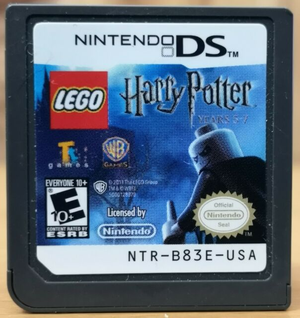 LEGO Harry Potter Years 5-7 (Nintendo DS, 2010, WB) * Disk only E