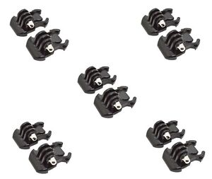 10 x Quick Release Buckle Mount Clips Compatible with GoPro HD Hero 5 6 7 8 9