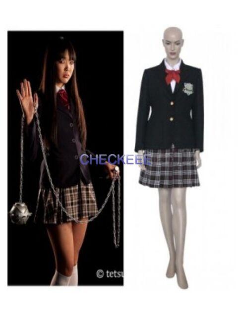 Bill Kill Gogo Costume Uniform Cosplay Yubari School fgYyb76