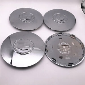 4pc set custom 2003 2006 escalade esv ext chrome center cap hubcap