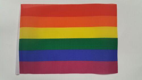 Hand Flag,Table Flag.Free P/&P Rainbow Pride Flag Choice of Polyester 5x3/' 3x2/'