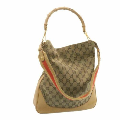 Gucci Handbag Bag Diana Guccissima GG Logo Monogr… - image 1