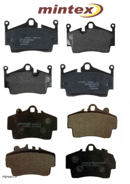 1996-00 MINTEX FRONT AND REAR BRAKE PADS FOR TOYOTA CRESTA 2.5 JZX100