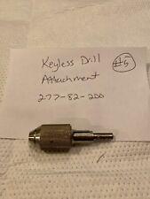 Stryker 277 82 200 Keyless Drill Attachment Orthopedic Used 5
