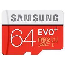 SAMSUNG evo+ 64GB MICRO SD 64 gb microsd MEMORY CARD CLASS 10 upto 48 mb/s