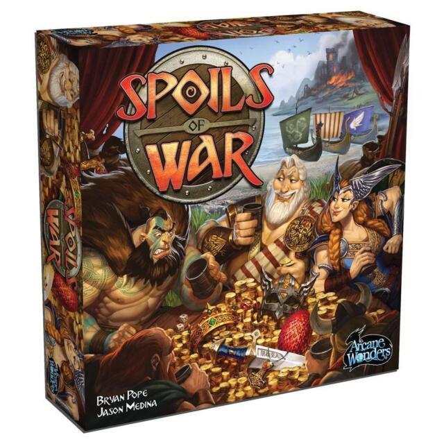 Spoils of War Board Game New Sealed Arcane Wonders