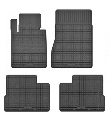 2008-2015 Mercedes GLK X204 Gummimatten Fußmatten 1.5 cm Rand 4-teile -Set