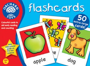 Details about Orchard Toys 019 Flashcards Kids Childrens Toddler Fun  Learning Game 3 Years +