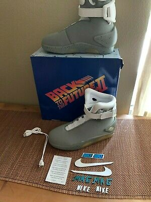FUTURE II NIKE AIR MAGS SHOES SIZE