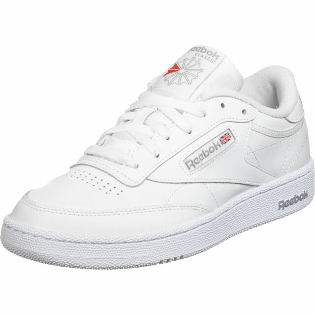 Reebok Club C 85 White Sheer Grey Sneaker SCHUHE 41