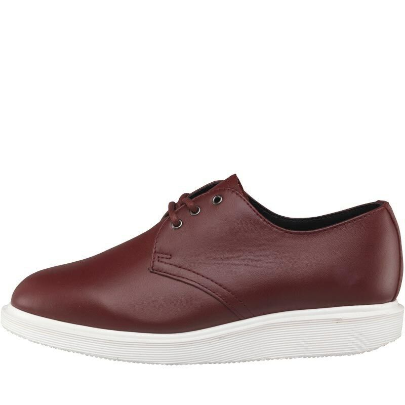 Dr Martens Cherry Torriano Softy Leder Schuhes Cherry Martens ROT  trainers uk 6 rrp 70caab