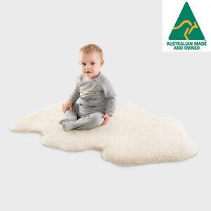 UGG Australia Merino Sheepskin Baby Rug Natural Colour Extra Large Size