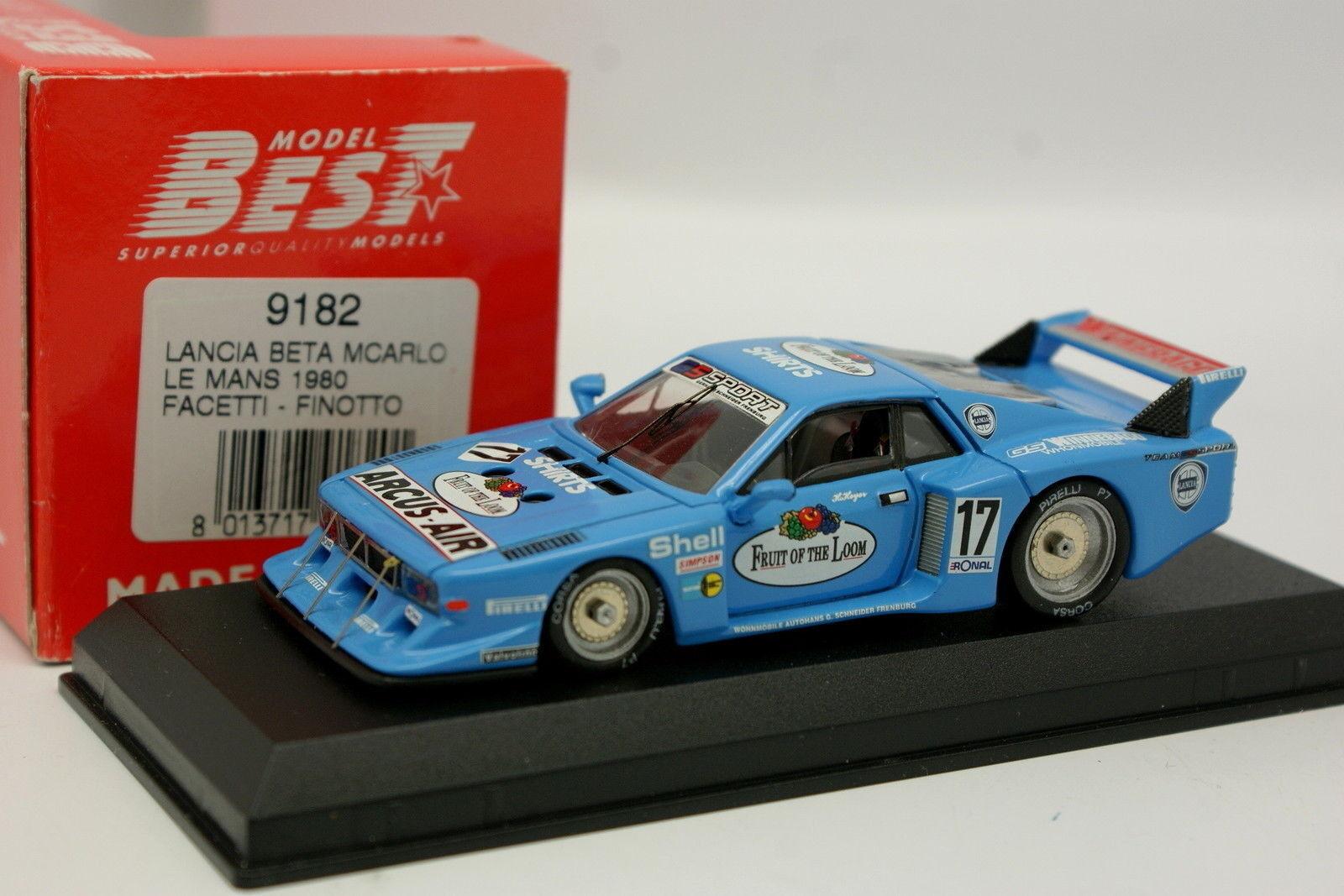 Best  - Lancia Beta Monte Carlo Le Mans 1980 N°17