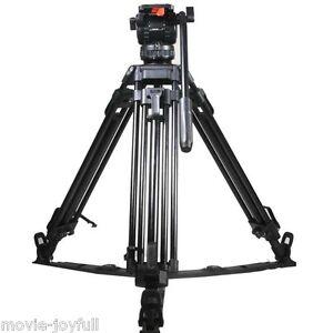 V8L-65-034-Professional-Aluminum-Video-Tripod-Fluid-Head-Load-8KG-for-TILTA-HDV