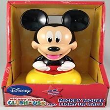 Disney Mickey Mouse Talking Light-Up Pals Flashlight Nightlight Toy Play Batteri