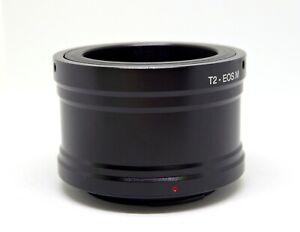 T2 T to EOS M EF-M Lens Mount Adapter Canon EOS M1 M2 M3 M4 M5 M6 T2-EOSM