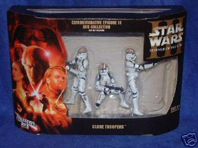 Star Wars ROTS Commemorative Clone Trooper Collection New Factory Sealed