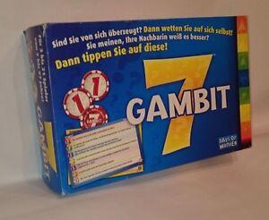 GAMBIT-7-DAS-andere-QUIZ-PARTY-Spiel-deutsches-ORIGINAL-v-DOW-RARITAT