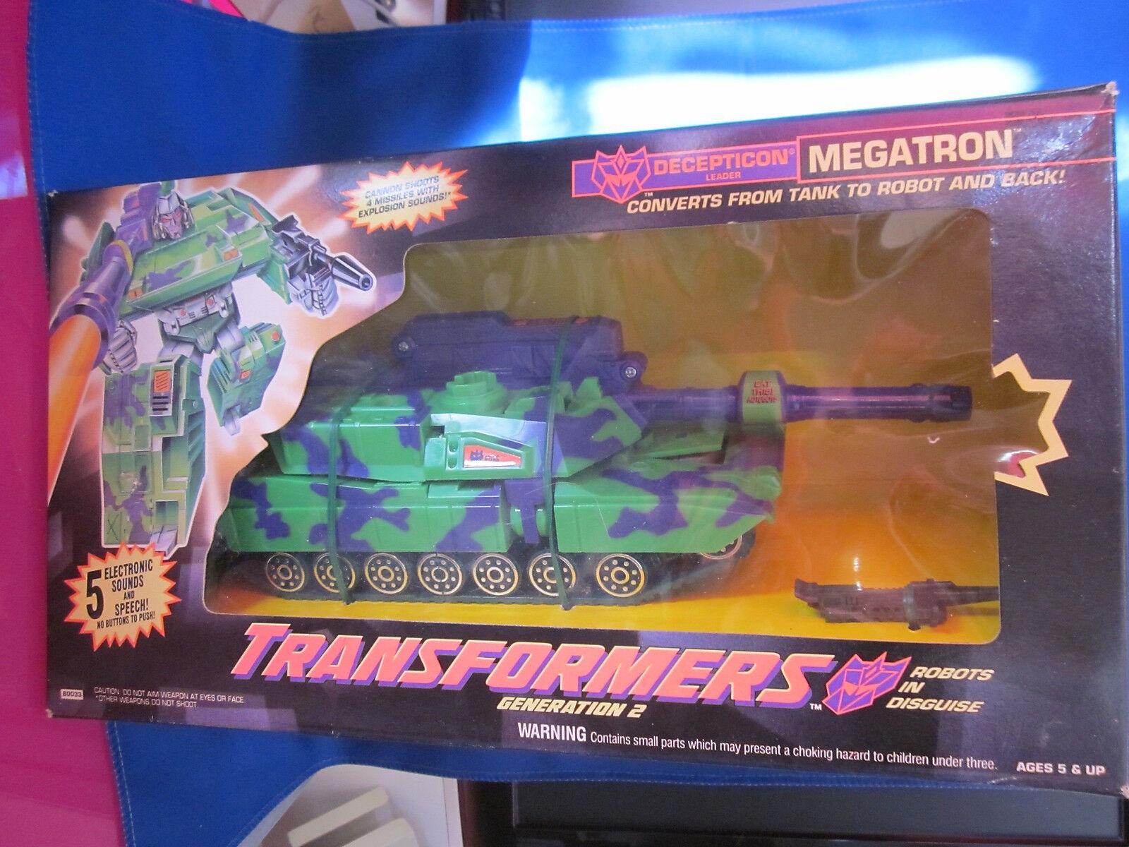 Transformers Generation 2 Decepticon Megatron  | Gemäßigten Gemäßigten Gemäßigten Kosten  0f6f80