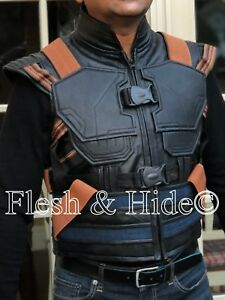 69bc26b1cb75f5 Kid s Avengers Black Panther Erik Killmonger Michael B. Jordan Vest ...