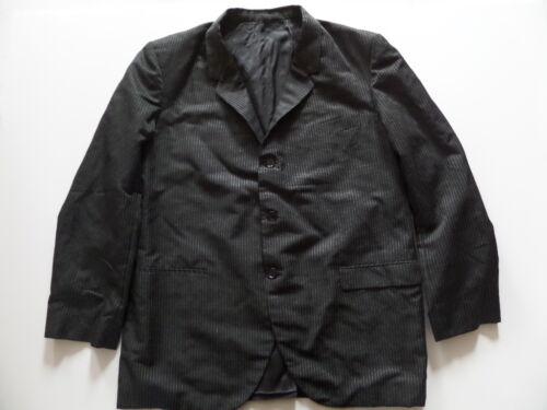 Tailor England Men's Sport Coat/Jacket Sz-( ) 24/32/25 Black Excellent Condition