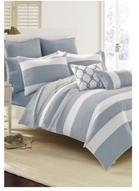 Twin Comforter Set Southern Tide Breakwater Bedding Collection Nautical Navy New
