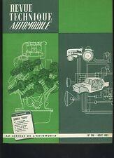(C3A)REVUE TECHNIQUE AUTOMOBILE SIMCA 1000 / RENAULT R8