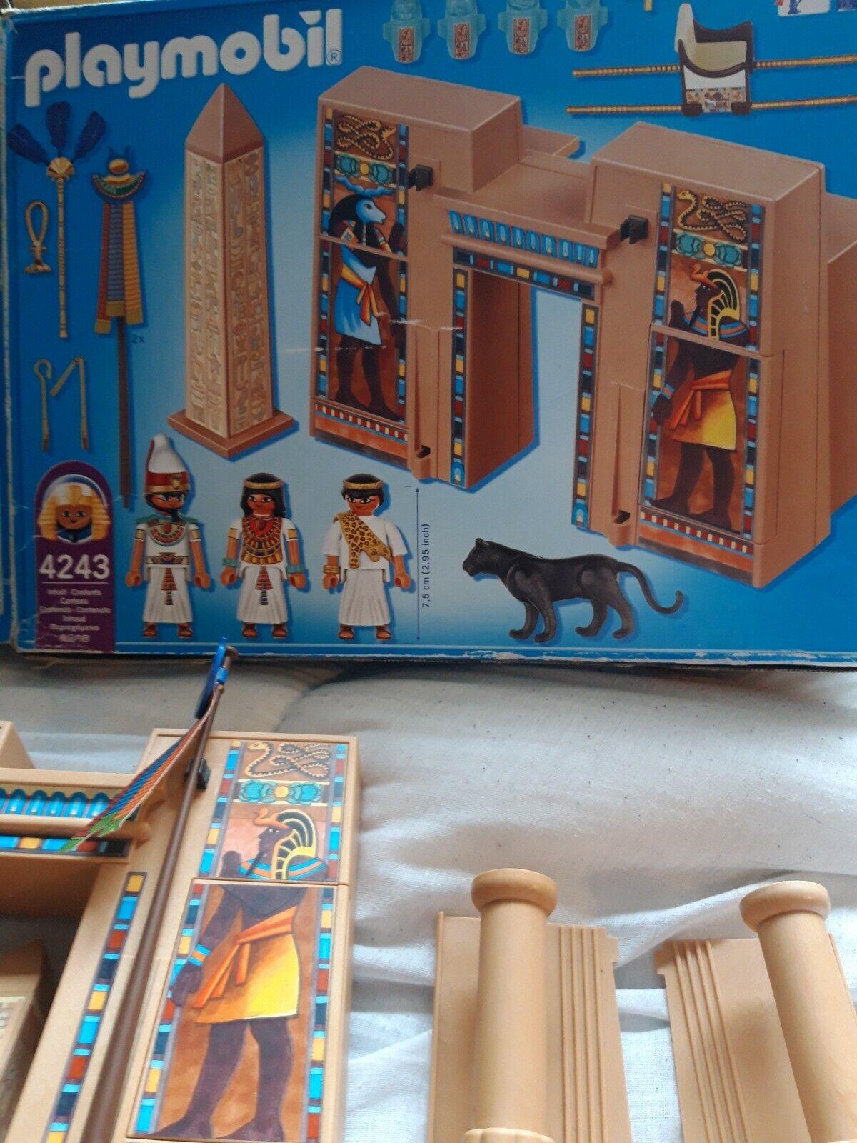 Polymobil 4243 Egypt pharoahs temple Set