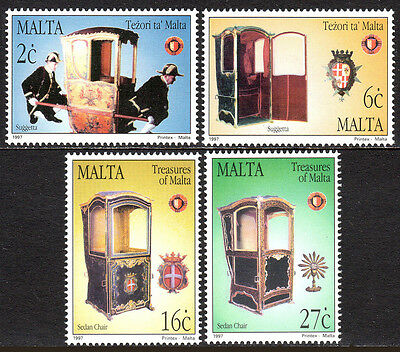Suggetta Sedan Stuhl 1997 Malta 911-914 Postfrisch Treasures Of Malta