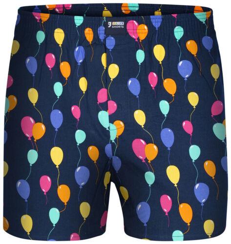 "Happy Shorts Boxer Shorts /""BALLOONS/""S M L XL100/% coton"