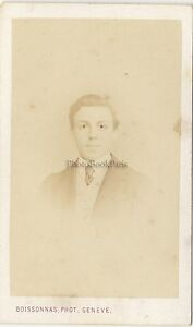 Boissonnas-Portrait-d-un-homme-Geneve-Suisse-Vintage-albumine