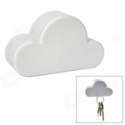 Creative Home Kits White Cloud Style Magnet Magnetic Key Hooks Hangers Holder