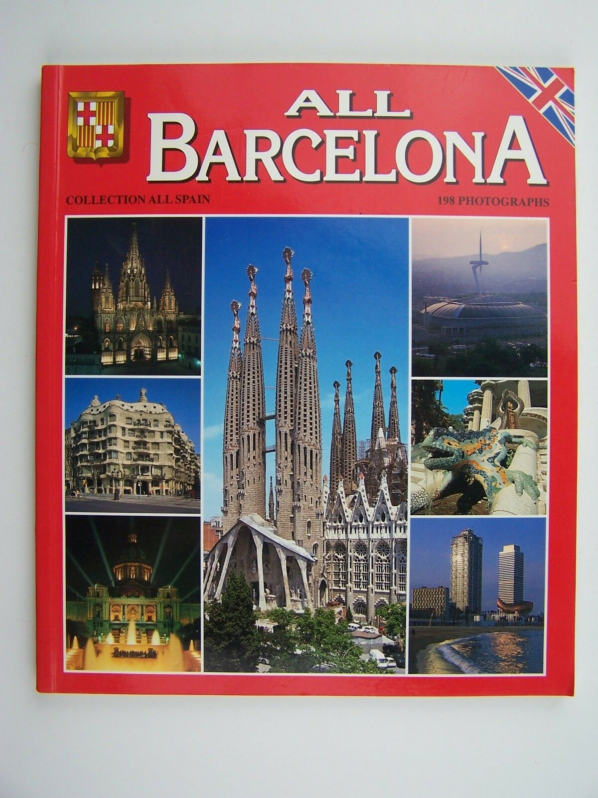 ALL BARCELONA by Manuel Milian Mestre Souvenir Guide Ph
