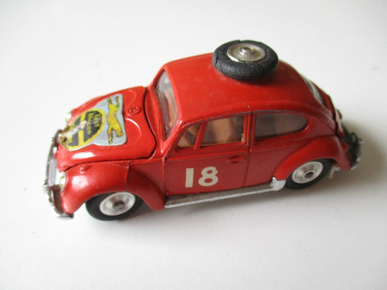 Corgi Toys 256 VW BEETLE VOLKSWAGEN SALOON 1200 East  African Safari 70er years  plus d'ordre