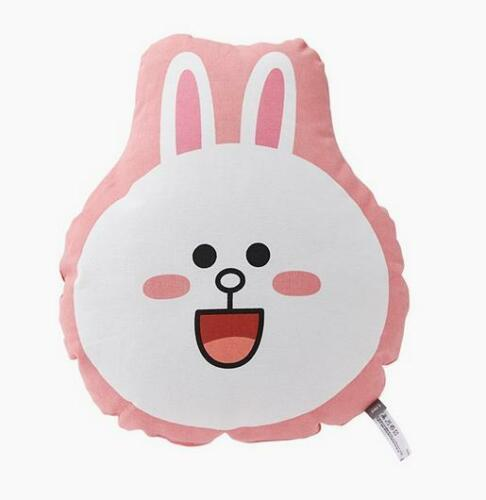 CONY BROWN Flat Soft Cushion Pillow Cuddle Plush