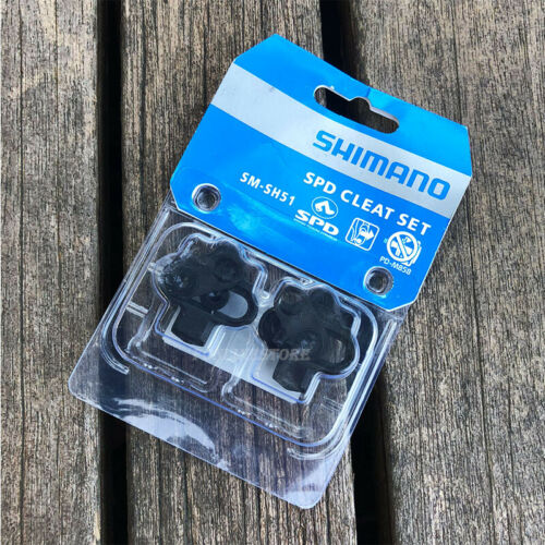Shimano SPD SM-SH51 Pedals Cleat Set MTB Mountain Bike Bicycle Cycling Cleat