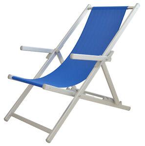 Sedia Sdraio da spiaggia in alluminio texline TEMPO STYLE S-Mediterraneo