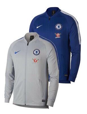Nike Squadra Chelsea Track Jacket 2018//19 Blu-Da Uomo