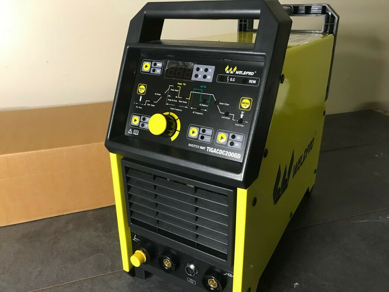 2020 Weldpro Digital TIG 200GD ACDC 200 Amp Tig/Stick Welder w/Pulse CK 17 Torch. Buy it now for 488.00