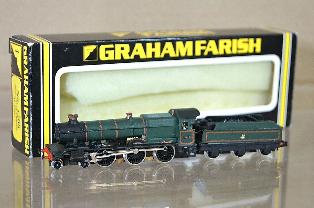 GRAHAM FARISH 1209 KIT BUILT BR 4-6-0 GRANGE CLASS LOCO 6834 DUMMER GRANGE mz