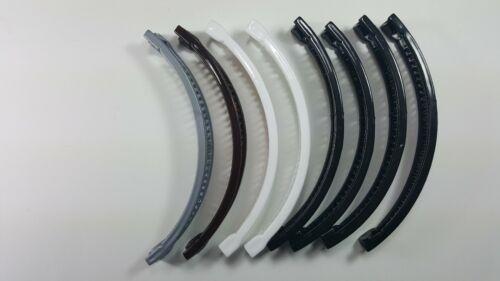 9pcs Banana Hair Clip Claw Comb choose color.