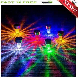 image is loading 12 pathway driveway led solar lights markers christmas