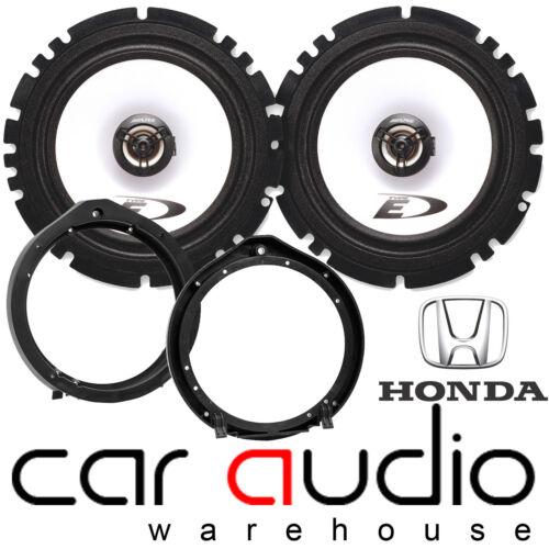 Honda Civic 2006 sobre 16cm 6.5 Alpine 440 Watts Puerta Frontal altavoces del coche y soportes