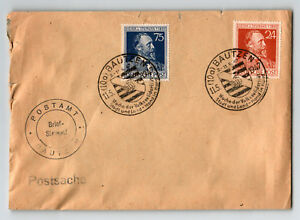 Germany-1947-BAUTZEN-Event-Cover-Small-Top-amp-Edge-Tears-Z13188
