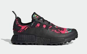 Adidas NMD R1 TR GTX Gore-Tex Trail Running Shoes Black FY7257 Men's Multi Size