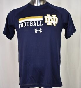 Under Armour Mens NCAA Notre Dame Fighting Irish Football Shirt NWT ... 5843fd6aa