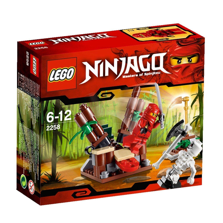 Joyeuses fêtes et bonnes affaires! LEGO Ninjago 2258 2258 2258 Ninja embuscade repoussé 53c71d